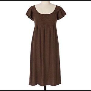Anthropologie Moth Cashmere Blend Sweater Dress.